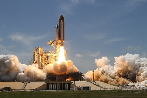 A rocket takes off to Boost Sales Training Effectiveness