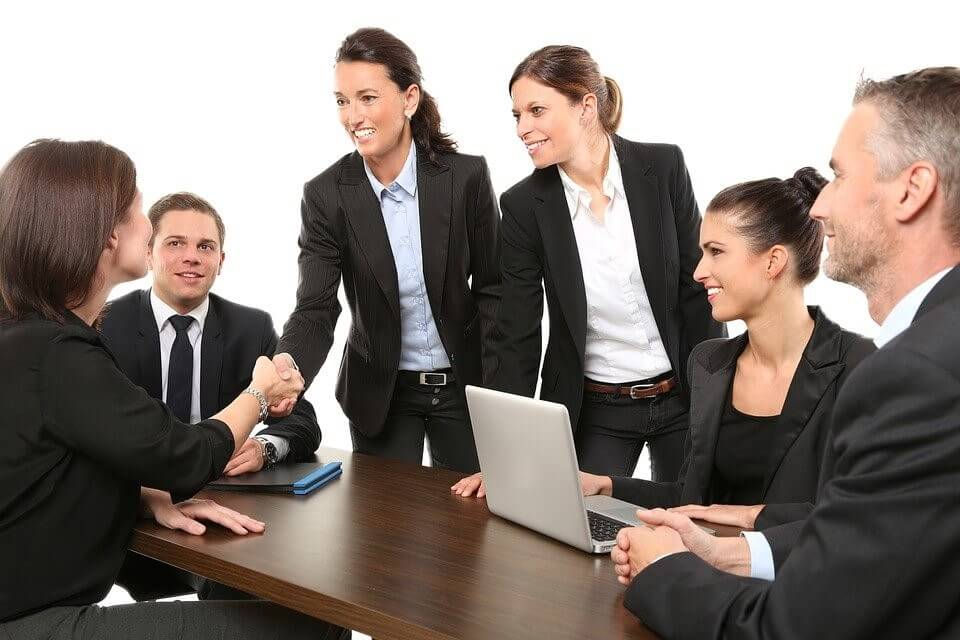 gathering to get quality sales referrals